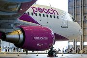 JA807P - Peach Aviation Airbus A320 aircraft