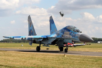69 - Ukraine - Air Force Sukhoi Su-27UB