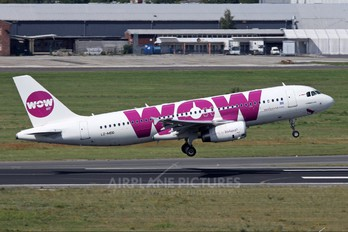 LZ-MDD - WOW Air Airbus A320