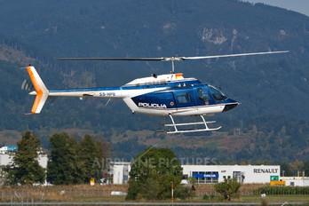 S5-HPE - Slovenia - Police Bell 206B Jetranger