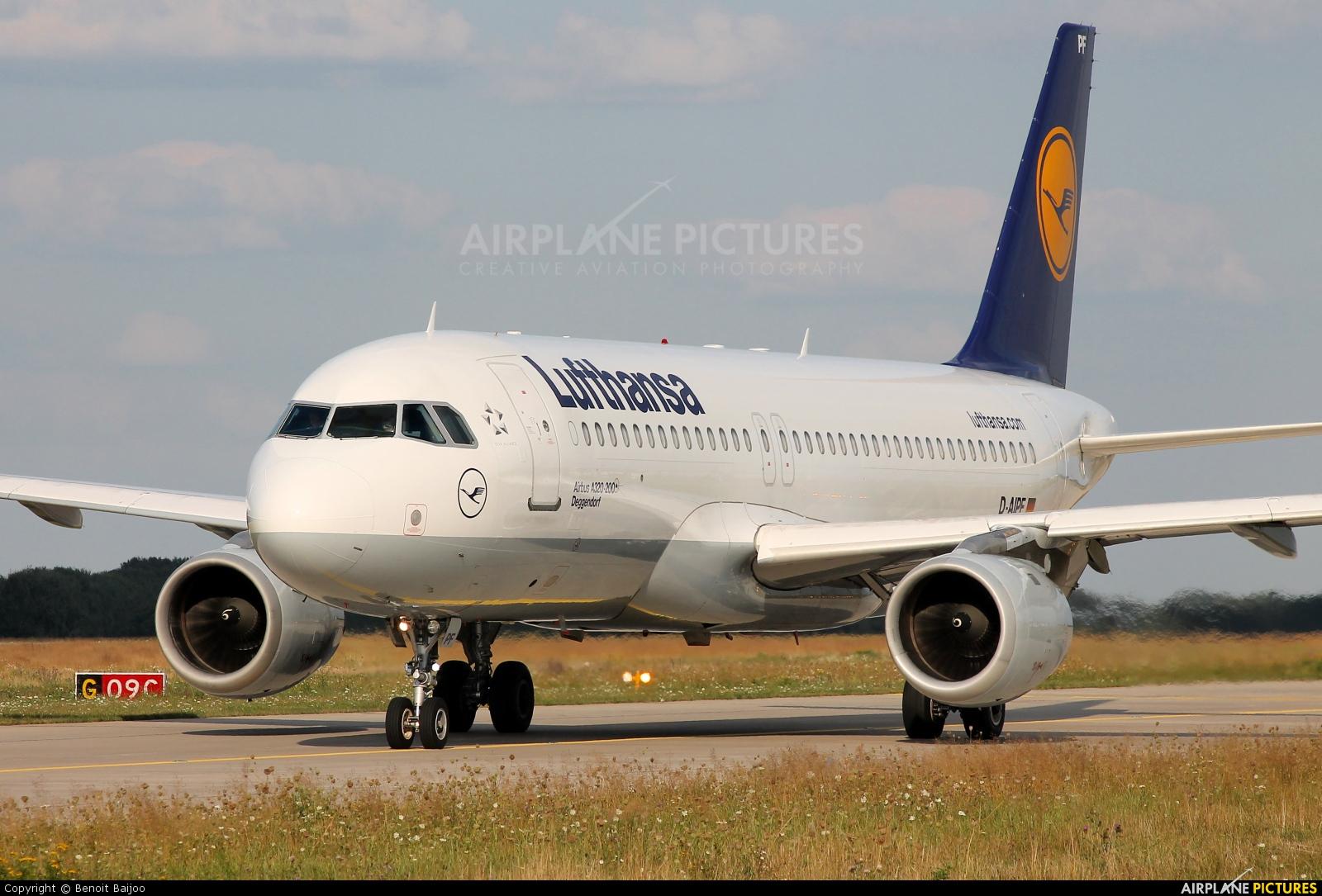 Lufthansa D-AIPF aircraft at Hannover - Langenhagen