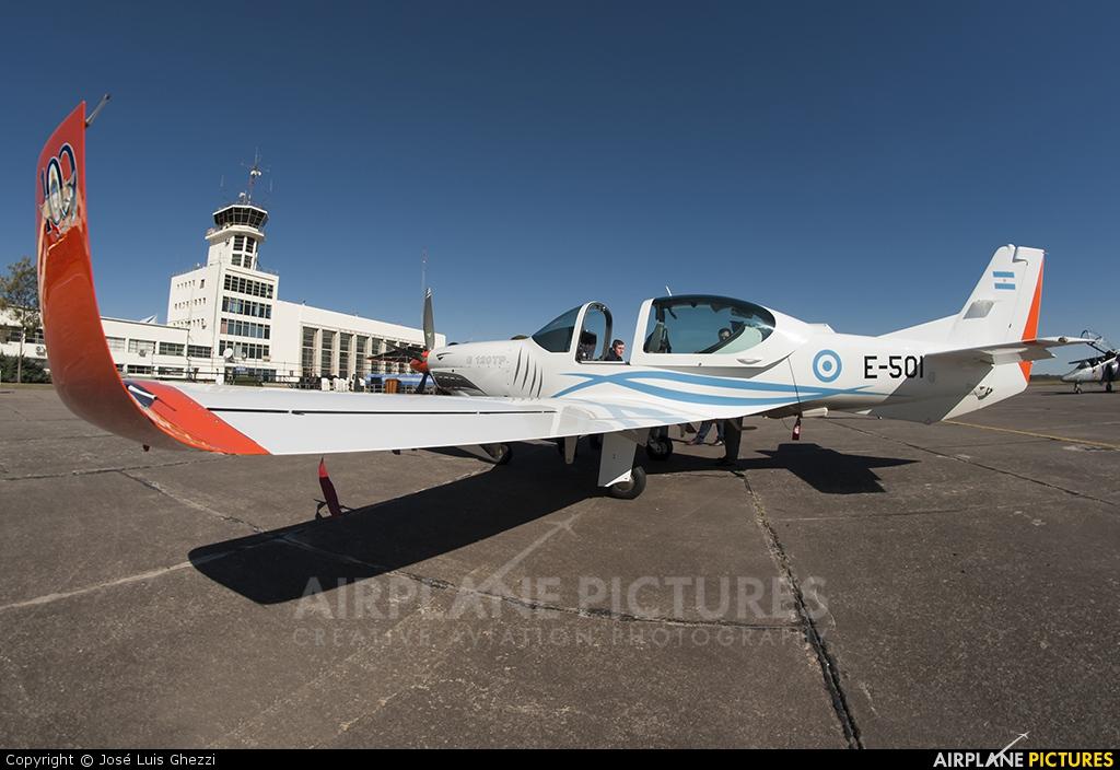 Argentina - Air Force E-501 aircraft at Morón