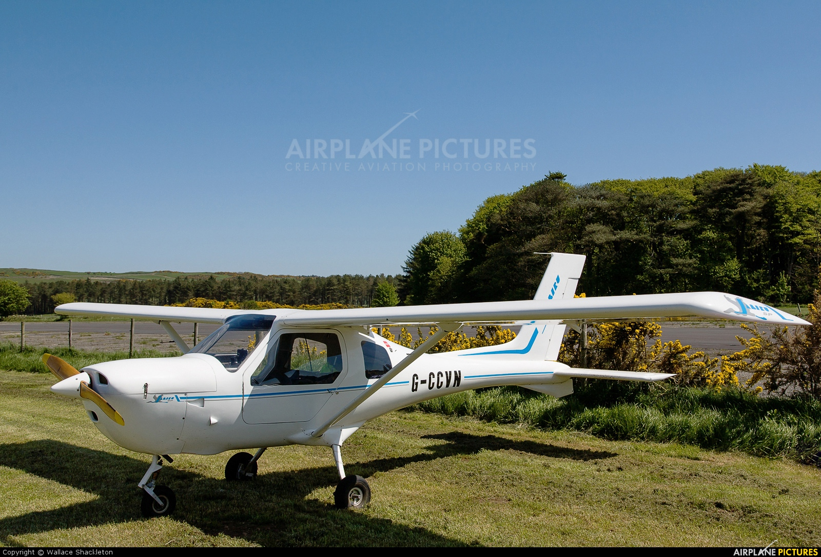 G-CCVN - Private Jabiru SP 470 at Castle Kennedy | Photo ID