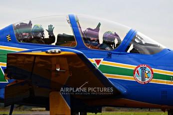"""5466 - Brazil - Air Force """"Esquadrilha da Fumaça"""" Embraer EMB-314 Super Tucano A-29B"""
