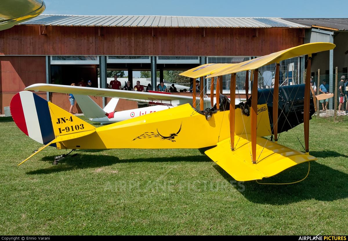 Private I-9103 aircraft at Montagnana