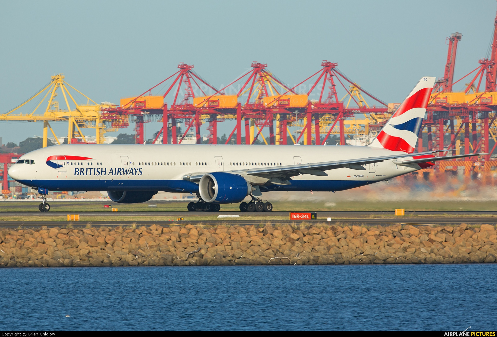 British Airways G-STBC aircraft at Sydney - Kingsford Smith Intl, NSW