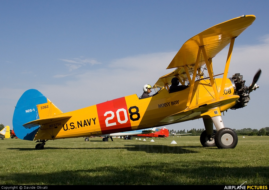 N53750 - Private Boeing Stearman, Kaydet (all models) at