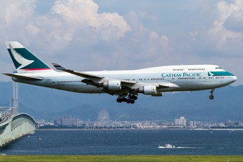 B-HKE - Cathay Pacific Boeing 747-400