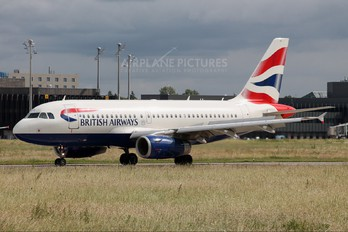 G-DBCC - British Airways Airbus A319