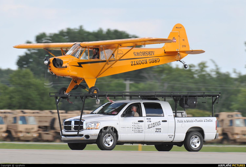 Private NC25786 aircraft at Oshkosh - Wittman Regional