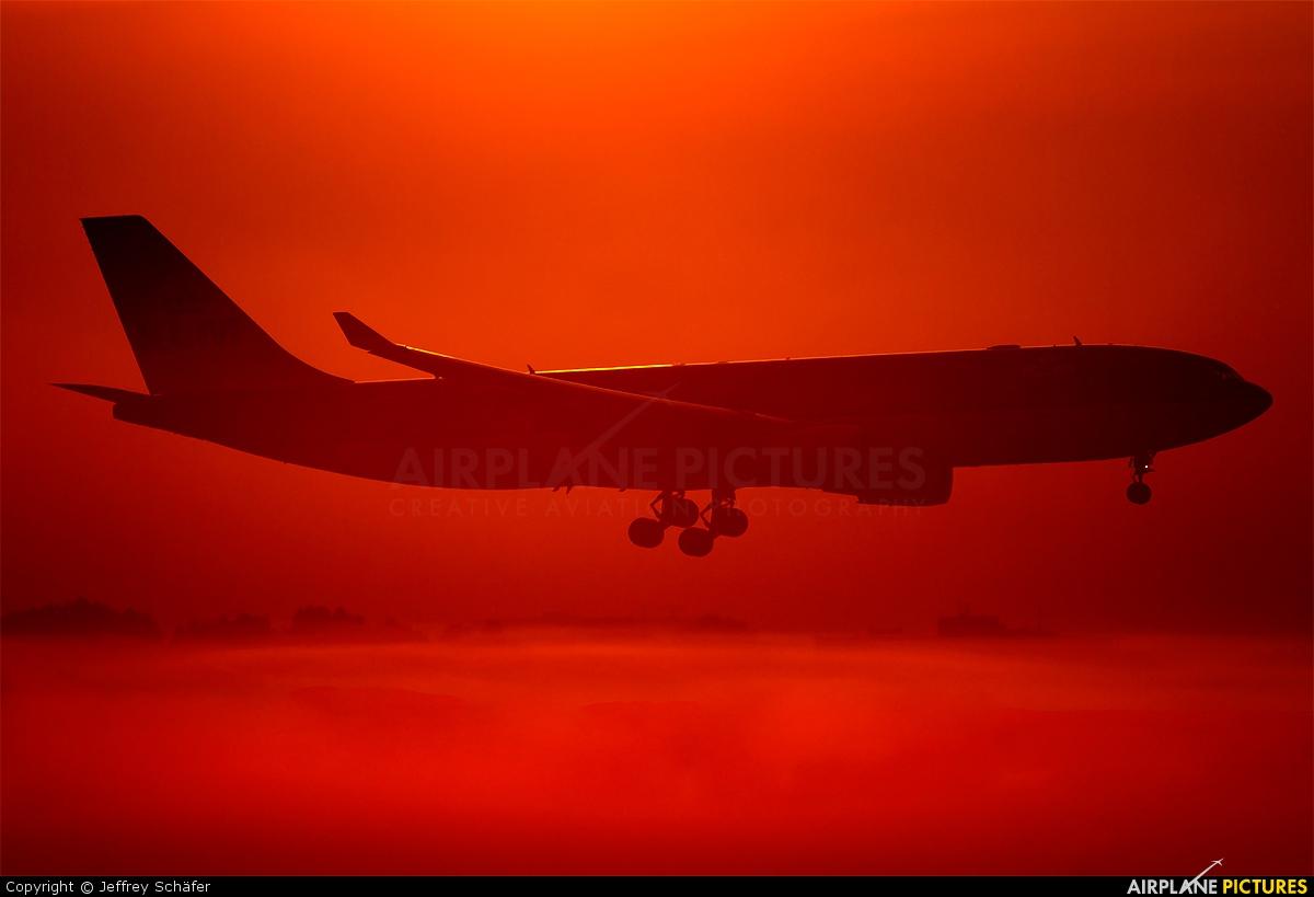 KLM PH-AOF aircraft at Amsterdam - Schiphol