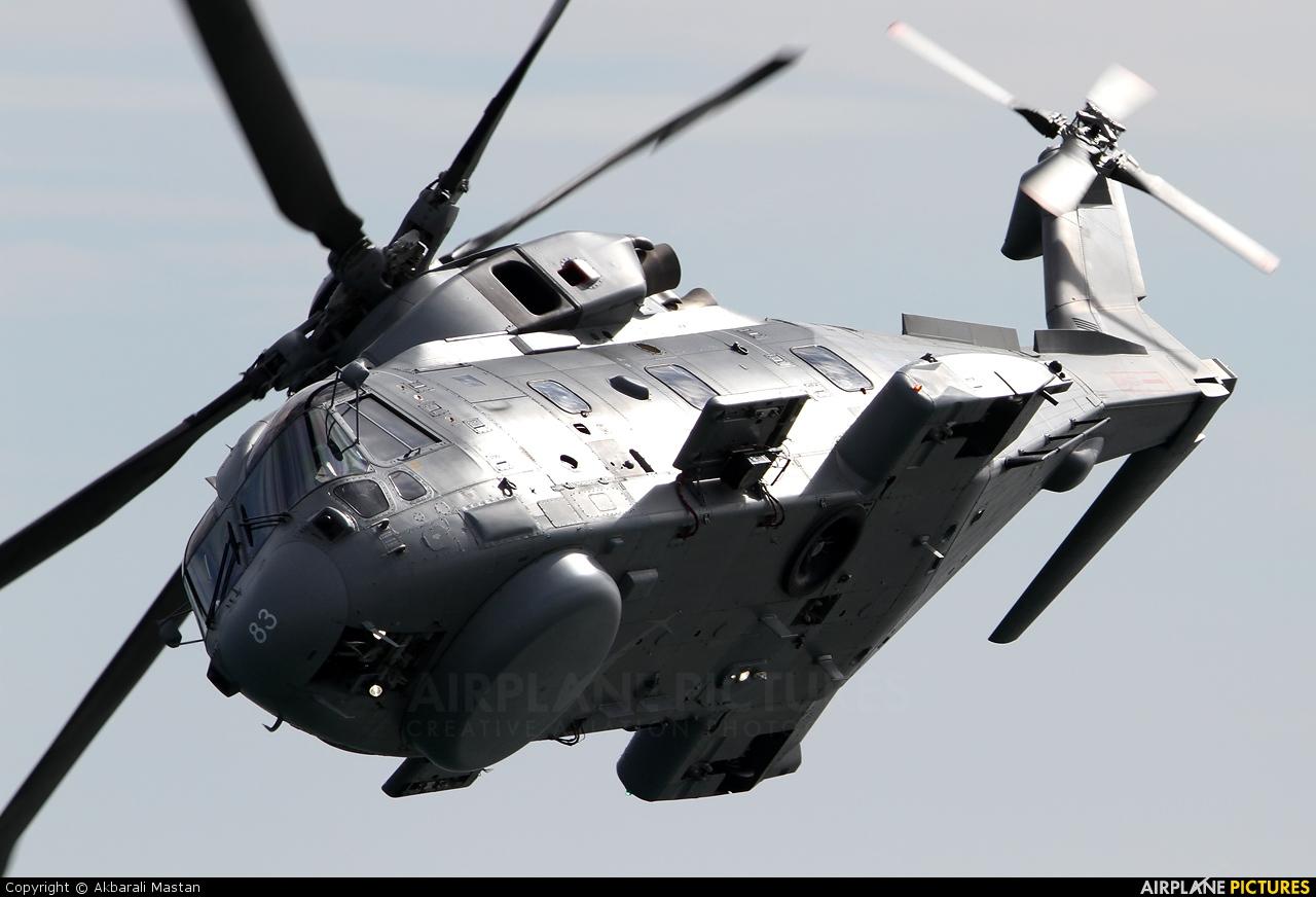 Royal Navy: Royal Marines ZH853 aircraft at Off Airport - England