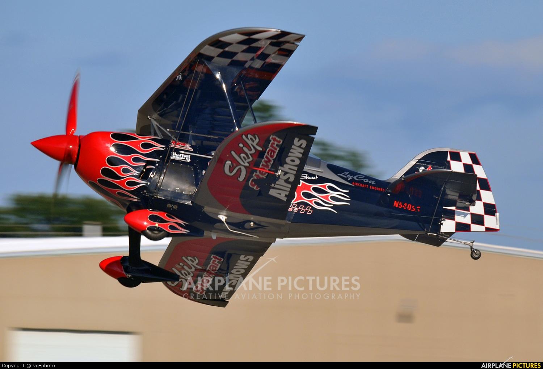 Skip Stewart Airshows N540SS aircraft at Oshkosh - Wittman Regional