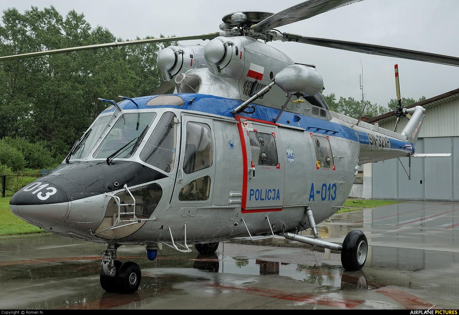 Poland - Police SN-32XP aircraft at Off Airport - Poland