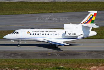 FAB-001 - Bolivia - Government Dassault Falcon 900 series
