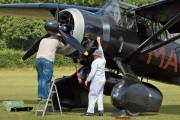 G-AZWT - The Shuttleworth Collection Westland Lysander III aircraft