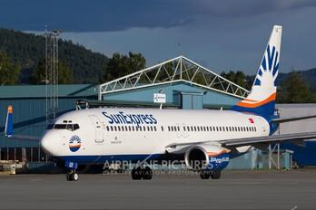 TC-SUI - SunExpress Boeing 737-800