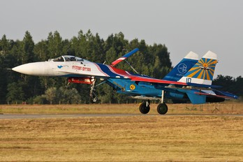 "10 - Russia - Air Force ""Russian Knights"" Sukhoi Su-27"