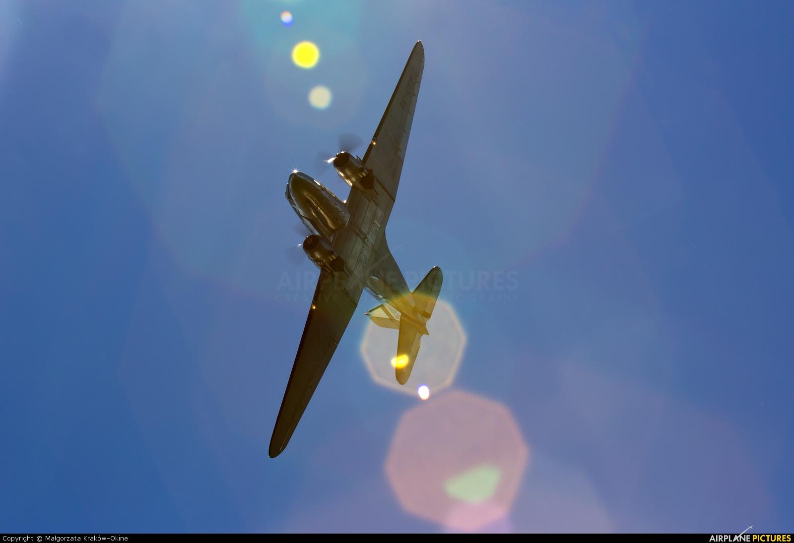 SAS - Flygande Veteraner SE-CFP aircraft at Giżycko