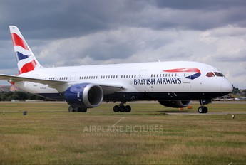 G-ZBJA - British Airways Boeing 787-8 Dreamliner
