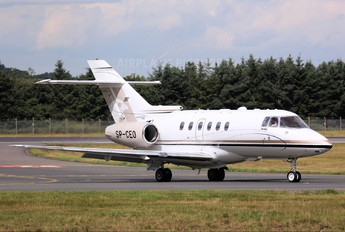 SP-CEO - Blue Jet Hawker Beechcraft 750