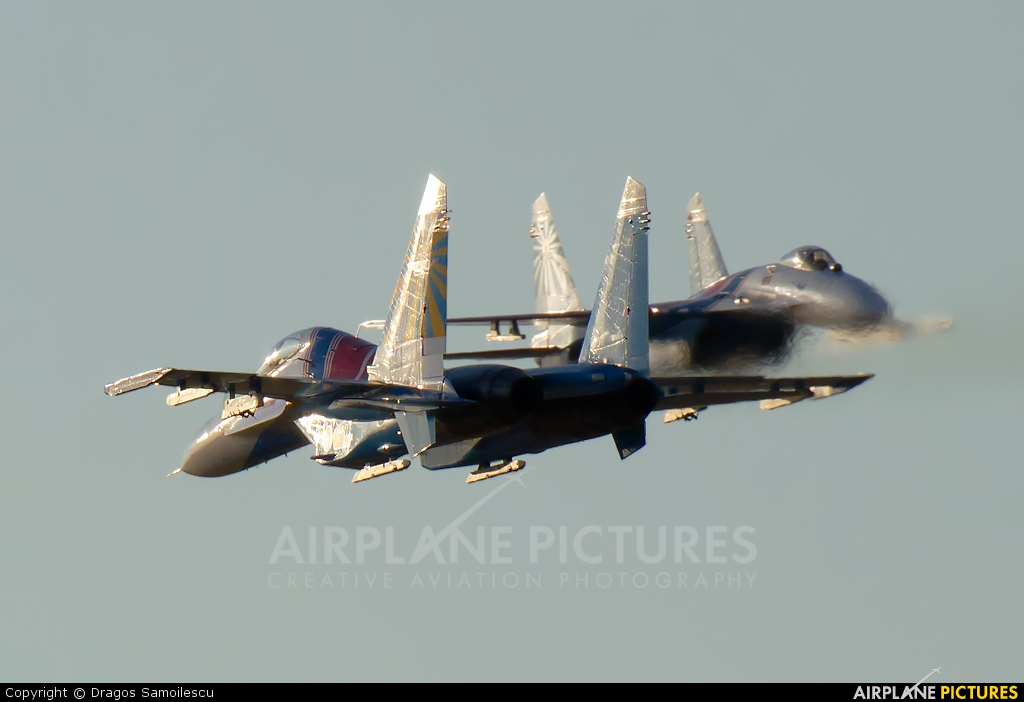 "Russia - Air Force ""Russian Knights"" 20 aircraft at Kecskemét"