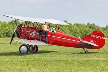 NC4418 - Private Travel Air D-4000