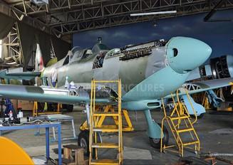 G-AIDN - Private Supermarine Spitfire T.8