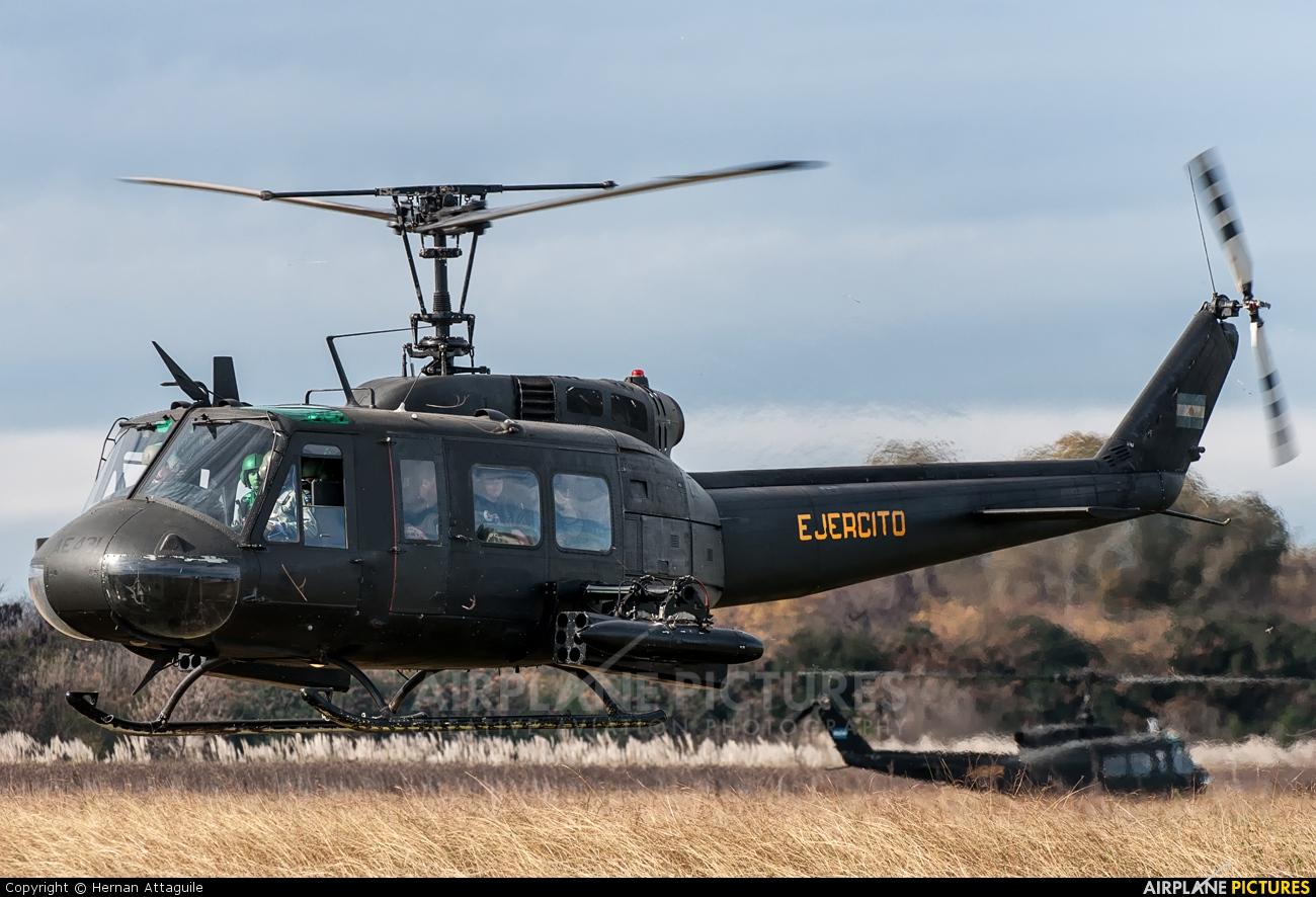 Argentina - Army AE-431 aircraft at Campo de Mayo