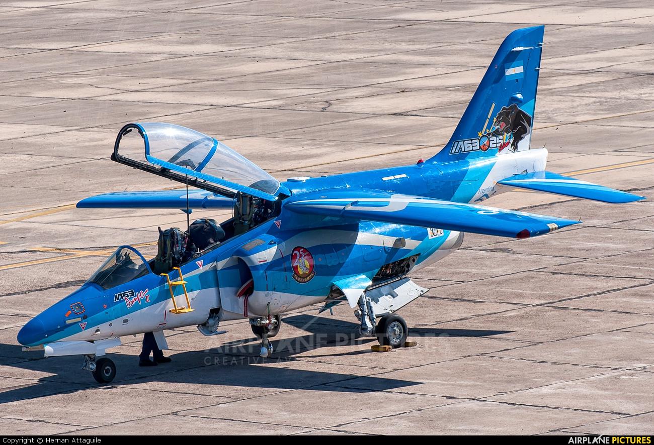 Argentina - Air Force E-820 aircraft at Morón