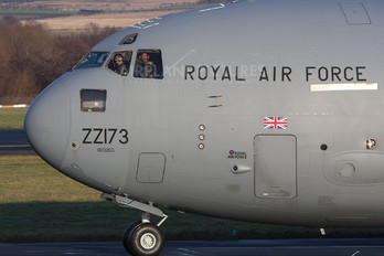 ZZ173 - Royal Air Force Boeing C-17A Globemaster III