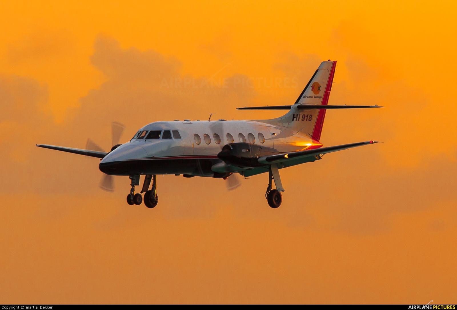 Air Santo Domingo HI-918 aircraft at Sint Maarten - Princess Juliana Intl