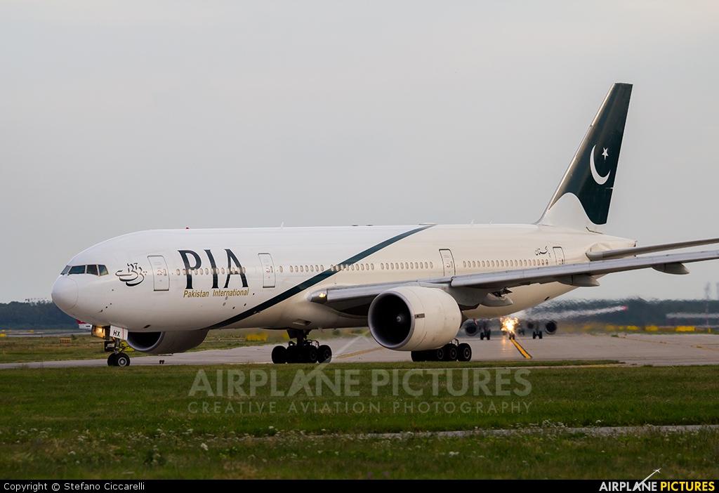 PIA - Pakistan International Airlines AP-BHX aircraft at Milan - Malpensa