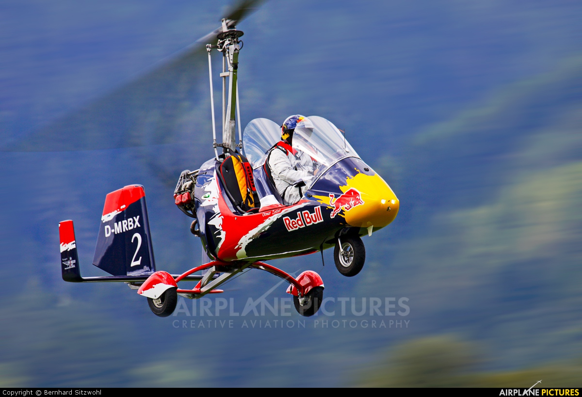 Red Bull D-MRBX aircraft at Off Airport - Austria