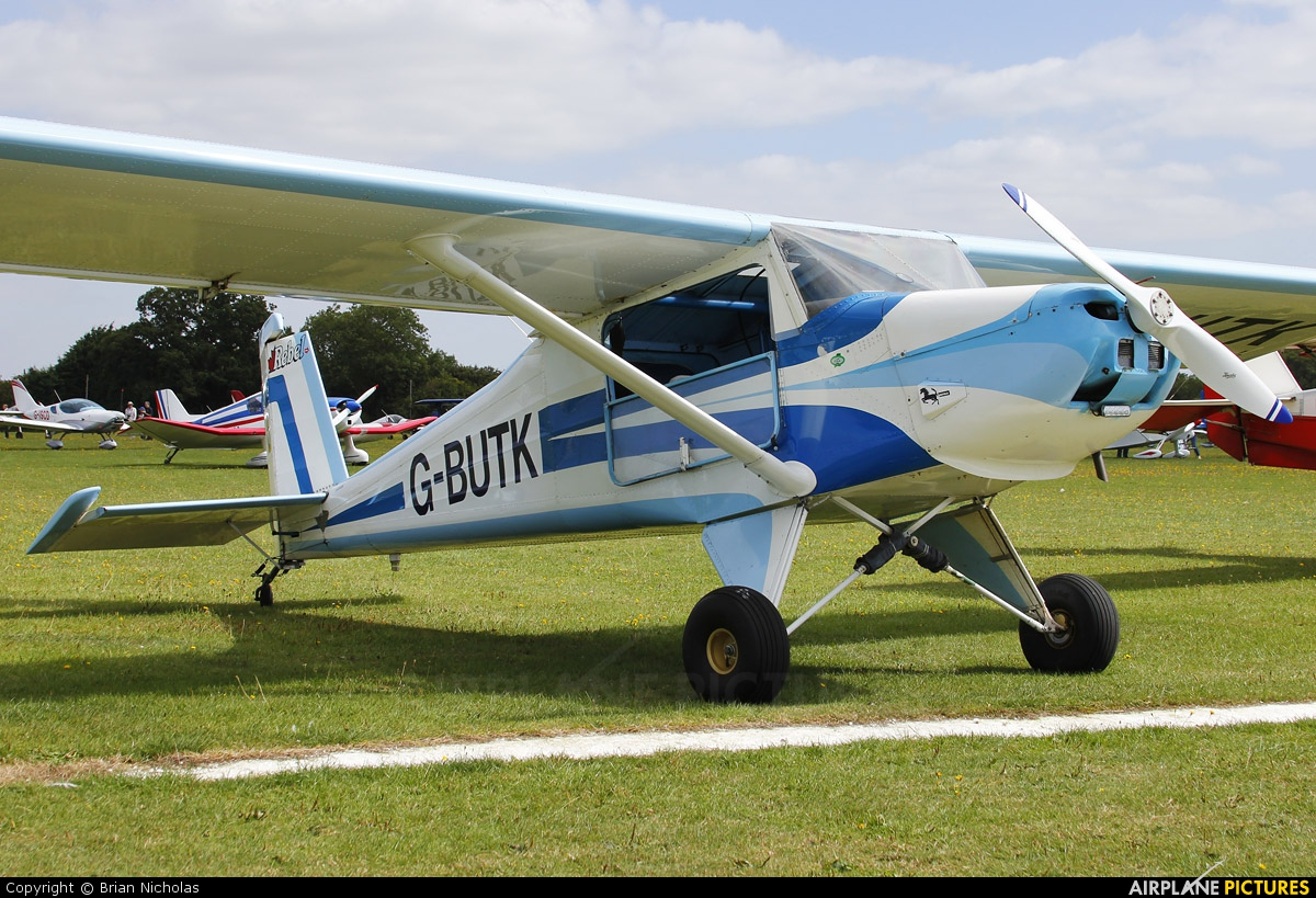 Private G-BUTK aircraft at Northampton / Sywell