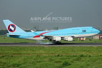 5N-MDK - Kabo Air Boeing 747-400