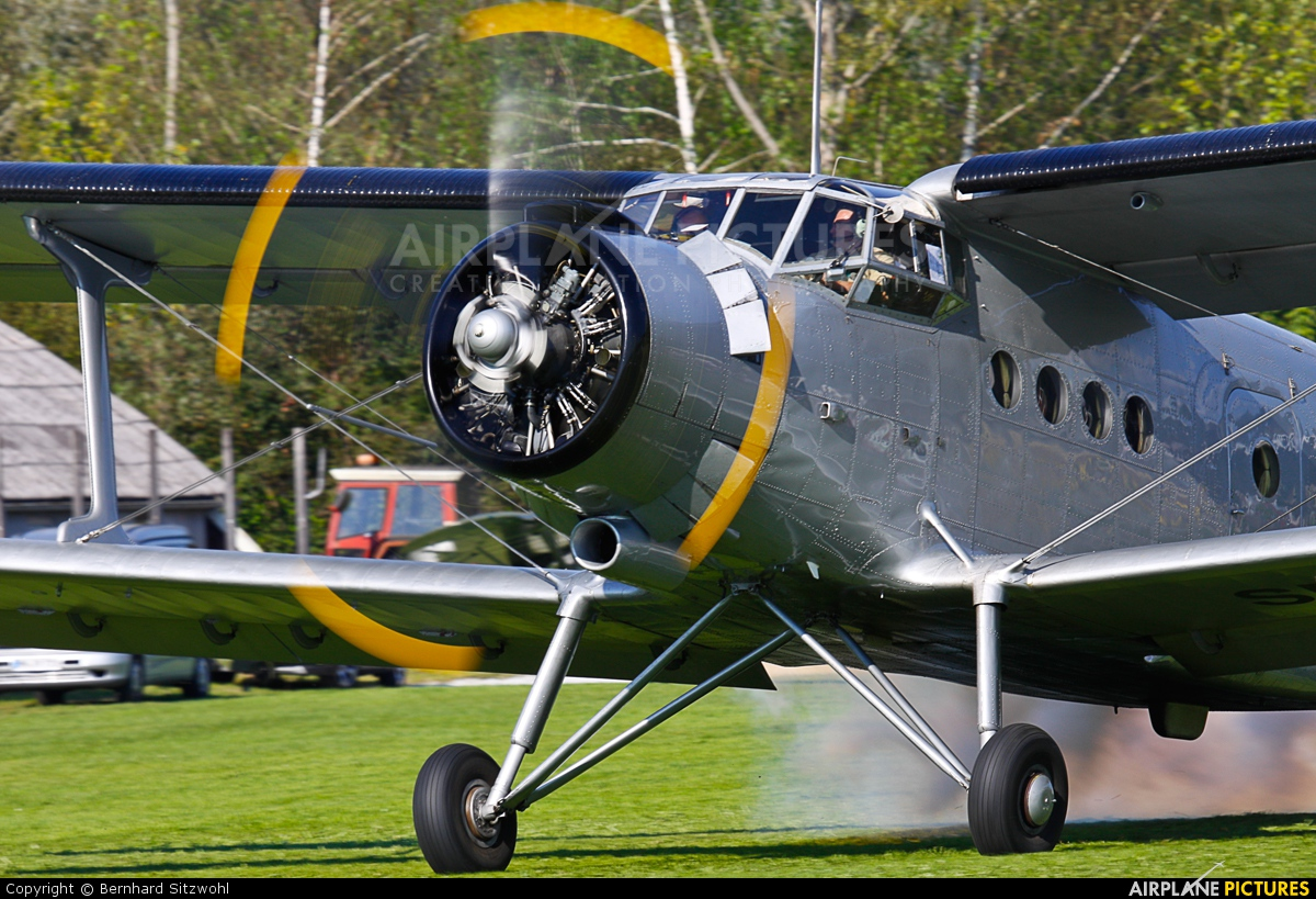 Classic Wings SP-FAH aircraft at Kapfenberg