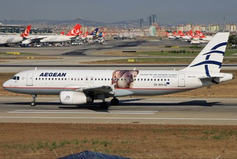 SX-DVV - Aegean Airlines Airbus A320
