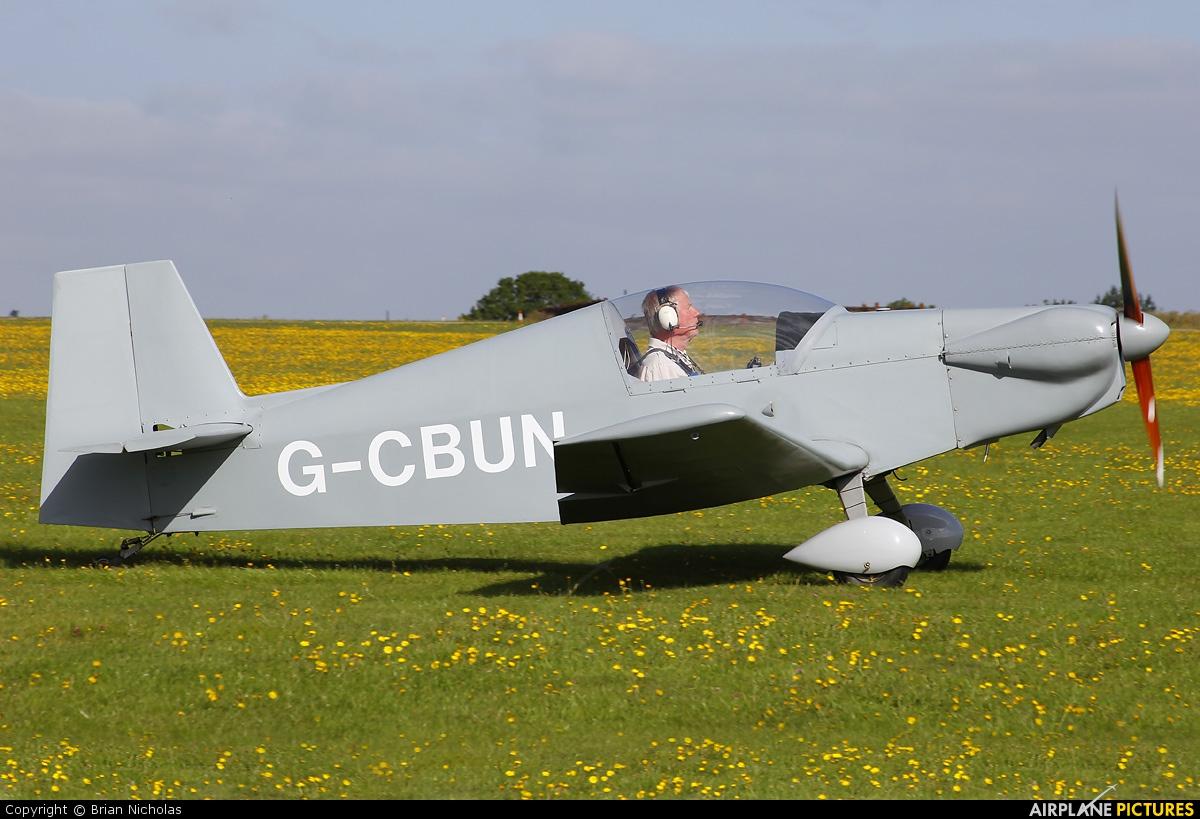 Private G-CBUN aircraft at Northampton / Sywell