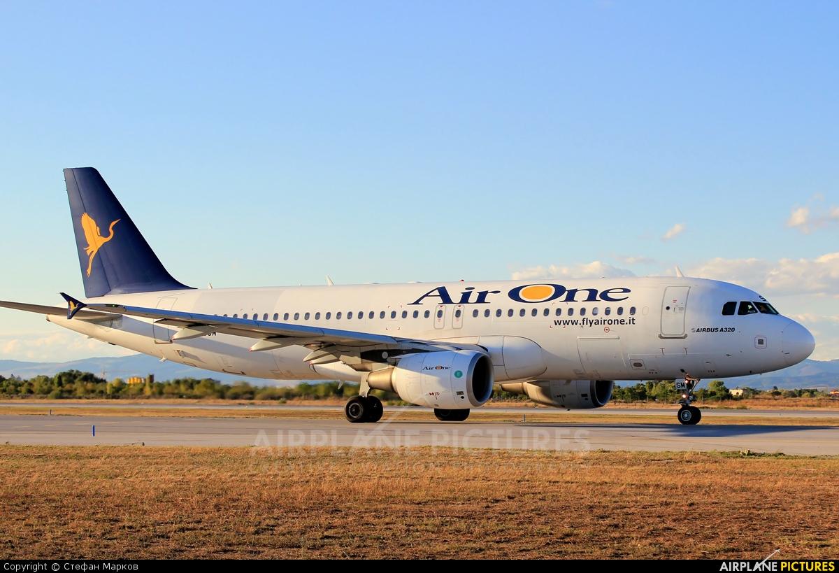 Air One EI-DSM aircraft at Sofia