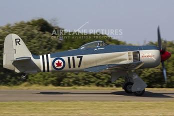 NX42SF - Private Hawker Fury FB.11