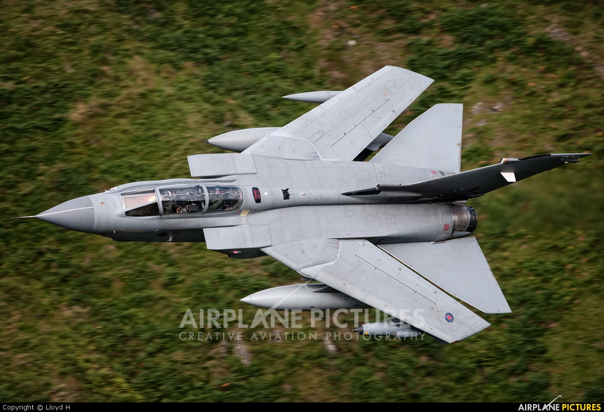 Royal Air Force ZA542 aircraft at Machynlleth LFA7