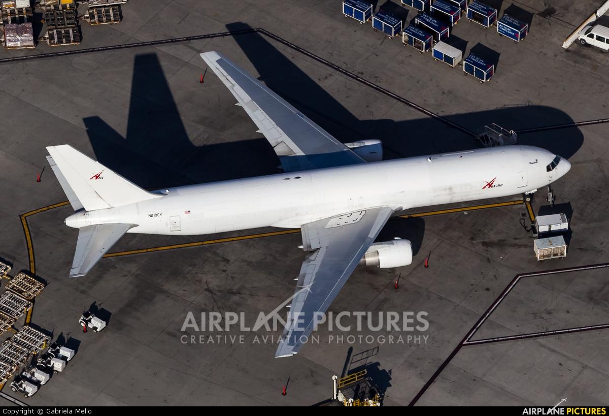 ABX Air N219CY aircraft at Los Angeles Intl