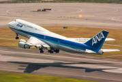 JA8099 - ANA - All Nippon Airways Boeing 747-400 aircraft