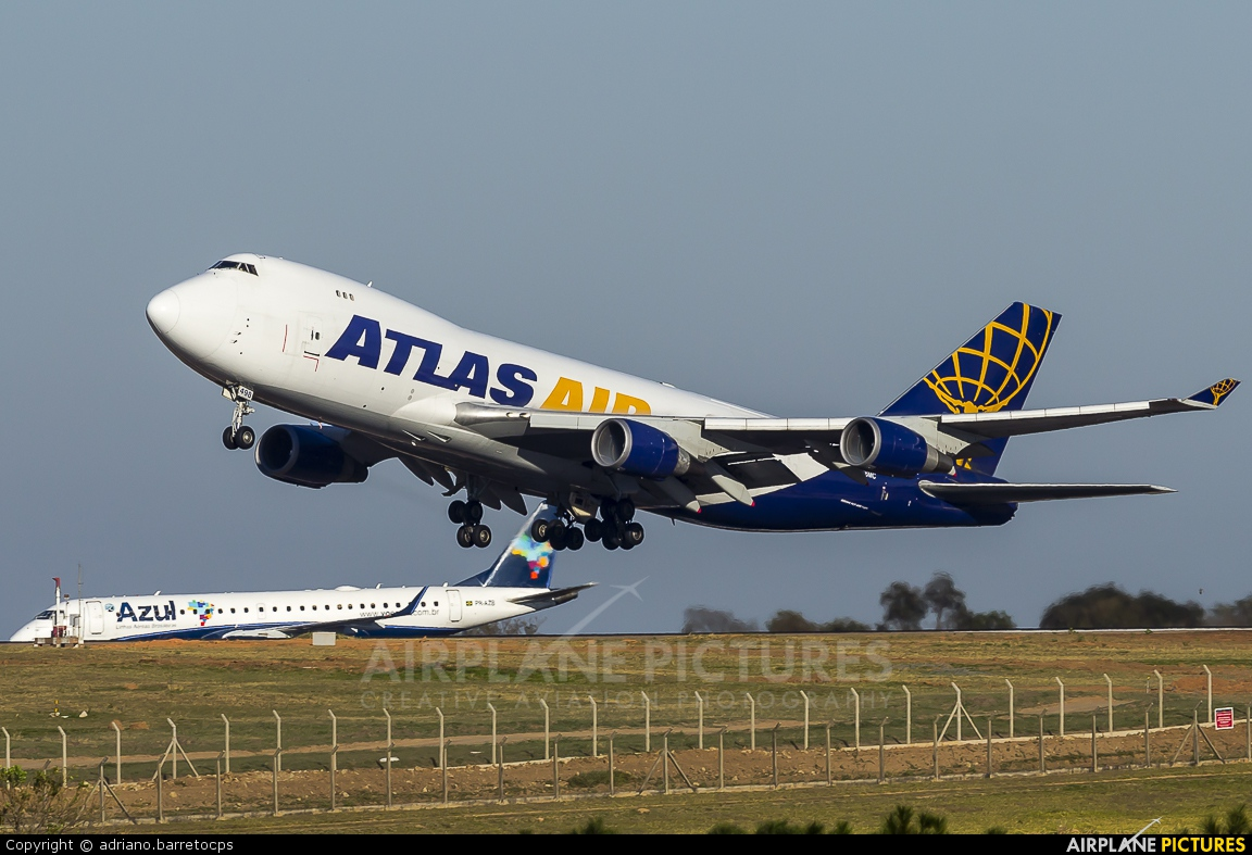 Atlas Air N498MC aircraft at Campinas - Viracopos Intl