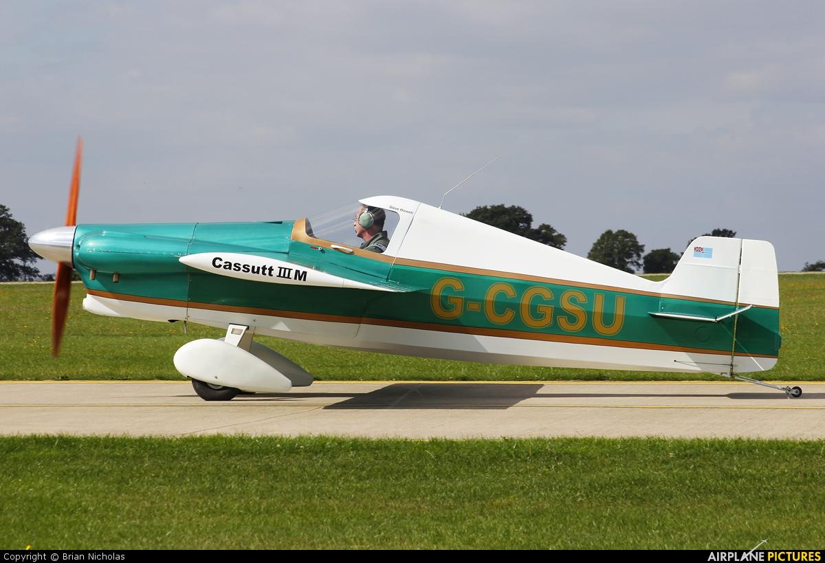 Private G-CGSU aircraft at Northampton / Sywell