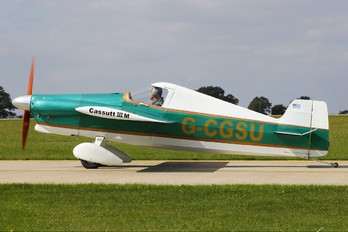 G-CGSU - Private Cassult Racer 111M