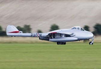 LN-DHY - Private de Havilland DH.100 Vampire FB.6