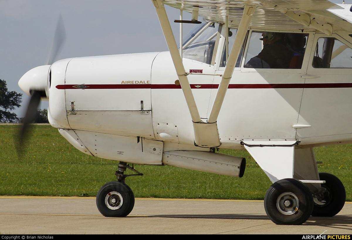Private G-ARNP aircraft at Northampton / Sywell