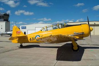 NX7431 - Private North American Harvard/Texan (AT-6, 16, SNJ series)